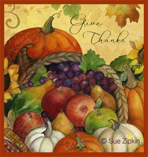 Sue Zipkin fall art