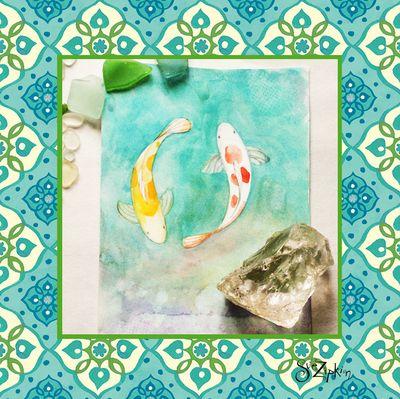 Sue Zipkin art and fabric